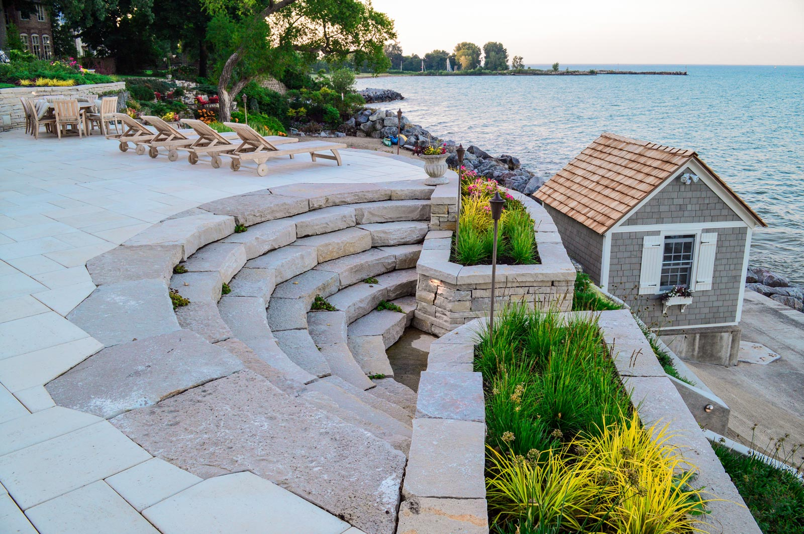 O'Brien Landscape | Stairs Paving