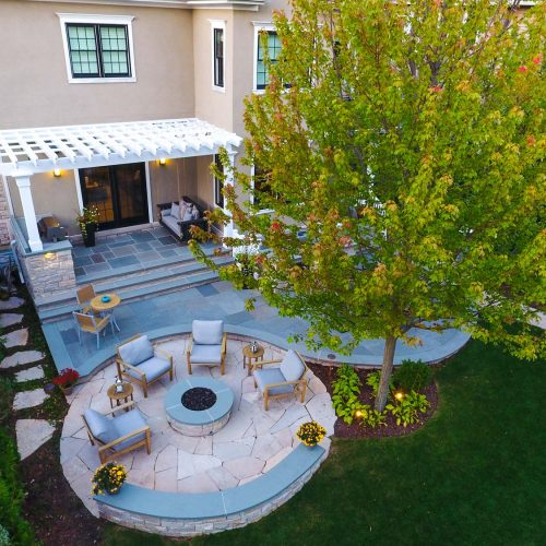 O'Brien Landscape   Backyard Design