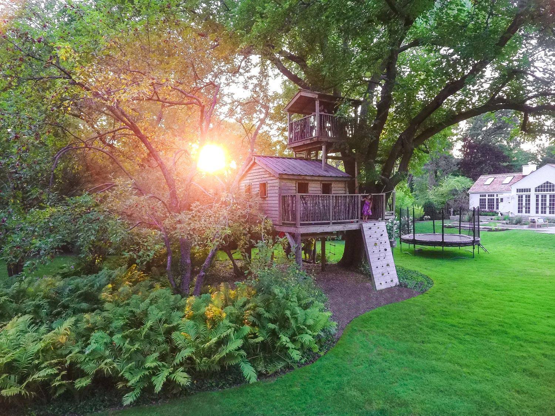 O'Brien Landscape | Custom Treehouse