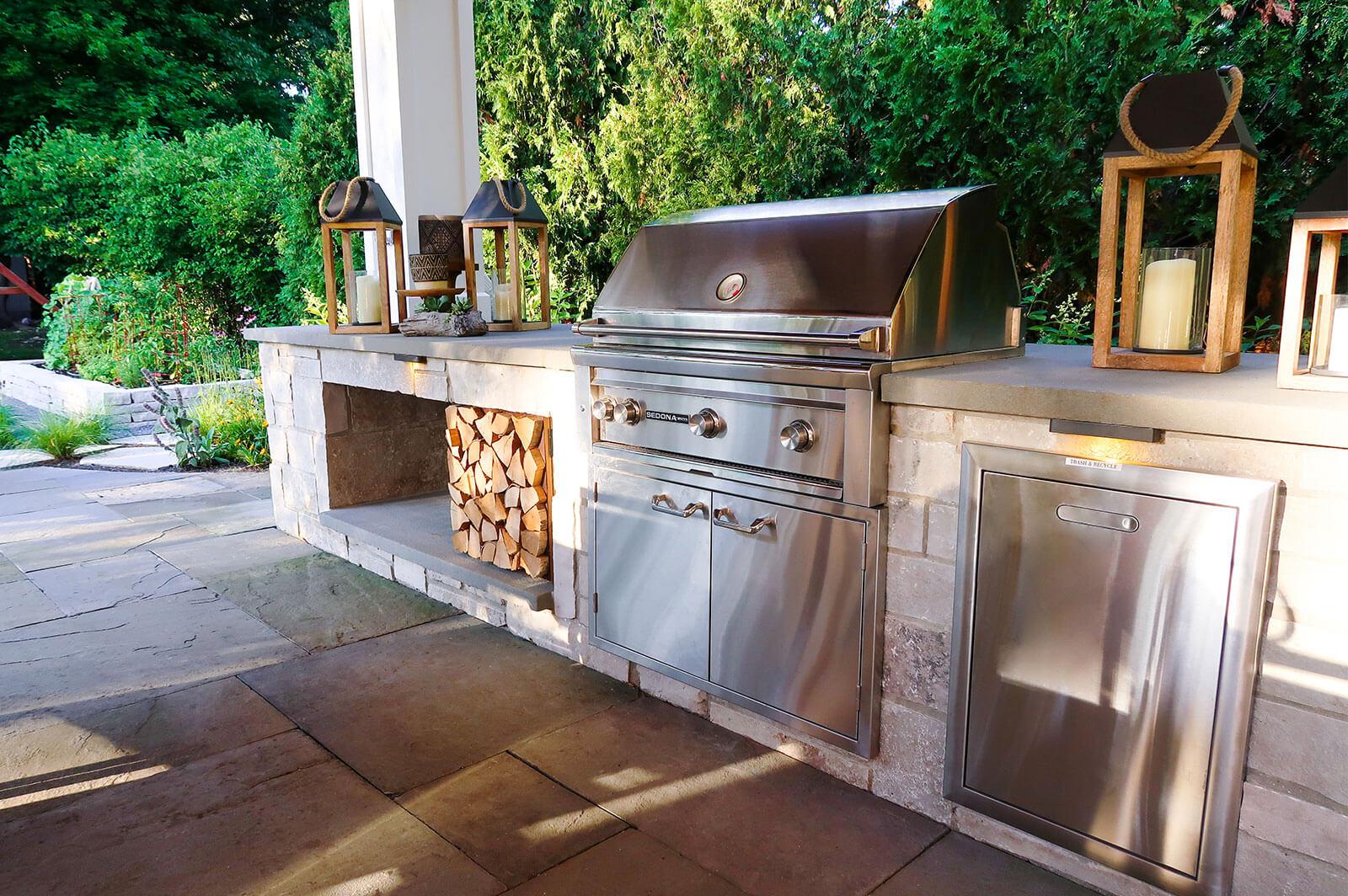 O'Brien Landscape | Outdoor Bbq Kitchen